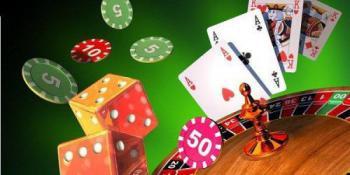 roulettebord marker tärningar kortlek